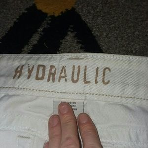 NWOT LOW rise 7/8 Hydraulic jeans